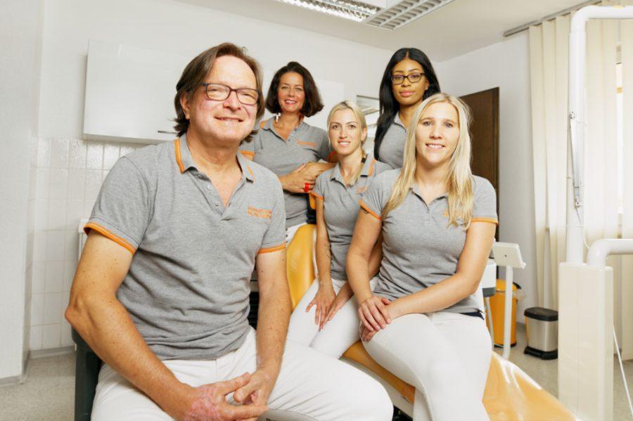 Praxis Team von Dr. Dr. Dinu Costa